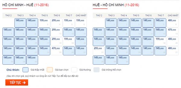 Săn vé máy bay giá rẻ đi Huế