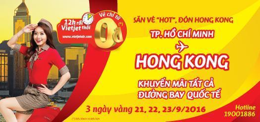 Săn vé giá rẻ đi Hong Kong