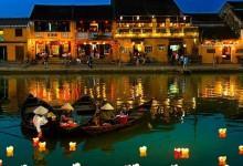 Hoa đăng Sông Hoài, thả ước mơ, nguyện cầu hạnh phúc
