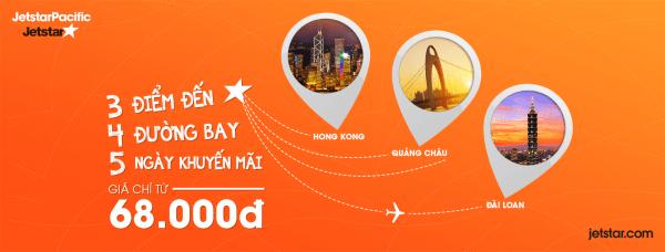 Bay thỏa thích với đường bay mới của Jetstar chỉ từ 68000 đồng