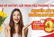 Vietjet tung khuyến mãi các chặng bay quốc tế