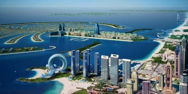 Các đảo được đặt xây với mục đich tăng cường phát triển du lịch cho Dubai. Mỗi khu định cư sẽ có hình dạng một cây cọ được bao bọc bên ngoài ...