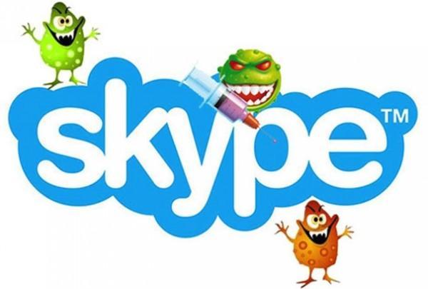 Cách xử lý skype bị virus tấn công