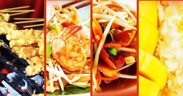 Những món ăn đường phố Thái Lan