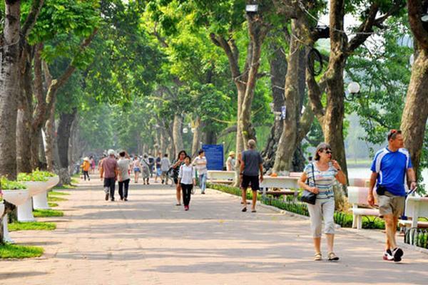 Hà Nội tổ chức giao thông ở phố đi bộ quanh hồ Hoàn Kiếm ...