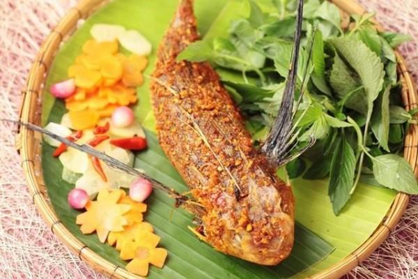 Món cá tắc kè kỳ lạ - Hải sản Nha Trang