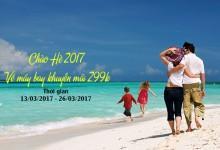 Vietnam Airlines mở bán vé máy bay khuyến mãi 299k
