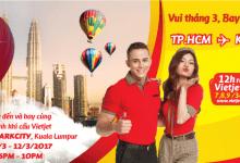 Ba ngày vàng khuyến mãi vé máy bay đi Kuala Lumpur chỉ 0 đồng