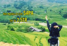 Kinh nghiệm đi SAPA tiết kiệm chỉ từ 2tr5