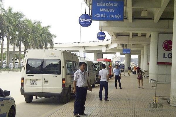 Xe từ sân bay Nội Bài về trung tâm Hà Nội