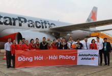 Tưng bừng khai trương đường bay mới Đồng Hới đi Hải Phòng