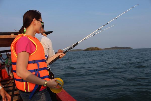 Câu cá tại Đảo Hải Tặc