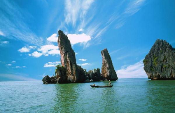 Khám phá đảo Hải Tặc hoang sơ đẹp mơ màng ở Kiên Giang