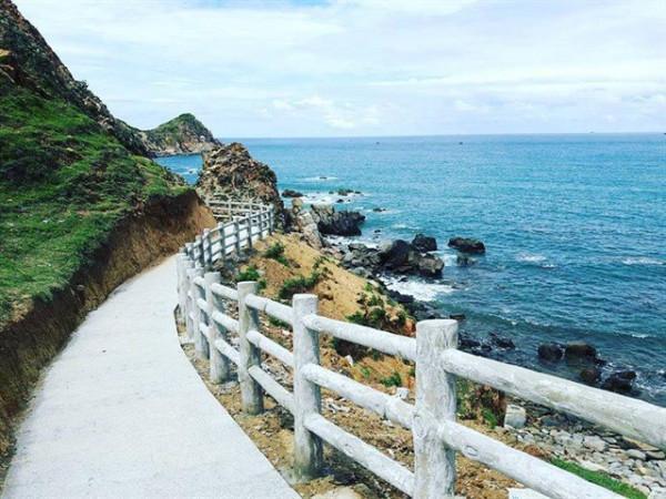 Đến Eo Gió Quy Nhơn check-in con đường ven biển
