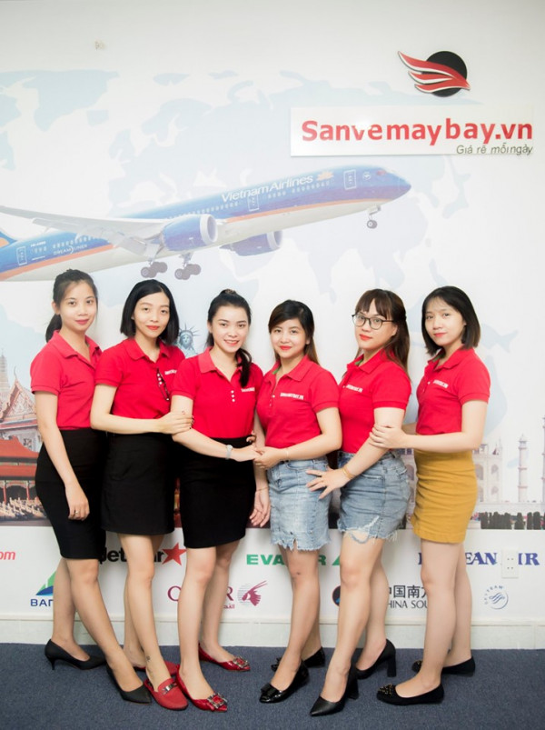 Đội ngũ nhân viên giàu kinh nghiệm của sanvemaybay.vn