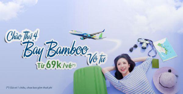 Giá vé máy bay Bamboo siêu khuyến mãi