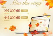 Vietnam Airlines tung vé siêu tiết kiệm chỉ 299k