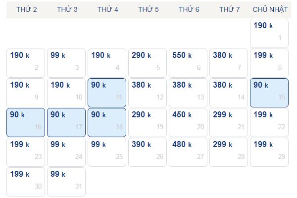 Vé máy bay giá rẻ đi Phú Quốc tháng 10 chỉ từ 99k