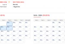 Săn vé máy bay giá rẻ đi Nha Trang chỉ từ 99000 đồng