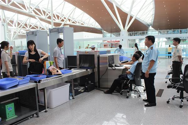 Thủ tục soi chiếu an ninh hàng không