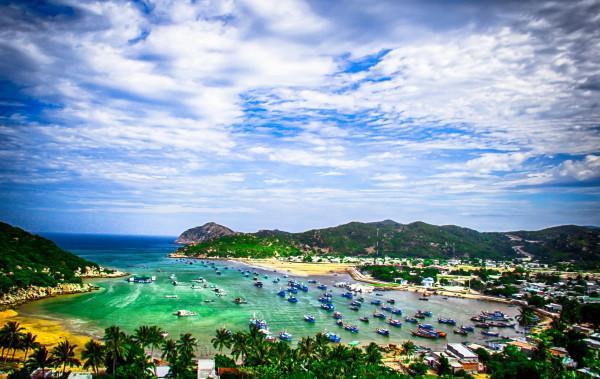 Lên Ninh Thuận ngắm bãi biển đẹp đến nao lòng