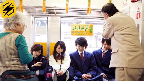 Người Nhật Không Nhường Ghế Cho Người Già & Phụ Nữ Khi Đi Tàu Xe