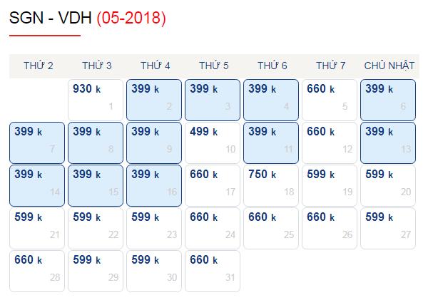 Vé máy bay đi Đồng Hới giá rẻ chỉ từ 399k