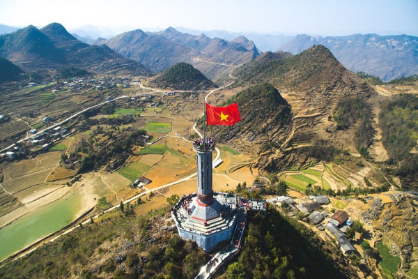 Lung Cu Flag - Ha Giang