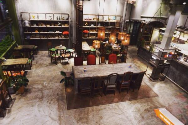 Không gian Cộng cafe