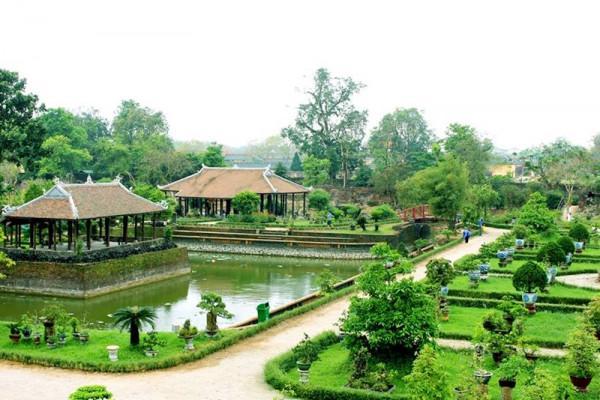 Cơ Hạ Viên - Vườn Cơ Hạ trong kinh thành
