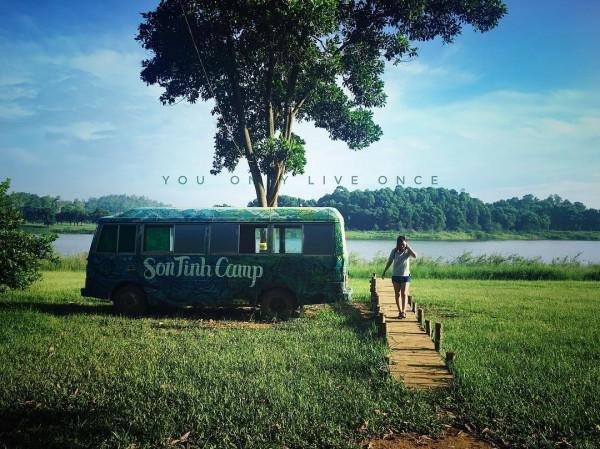 Sơn Tinh Camp - Điểm du lịch gần Hà Nội
