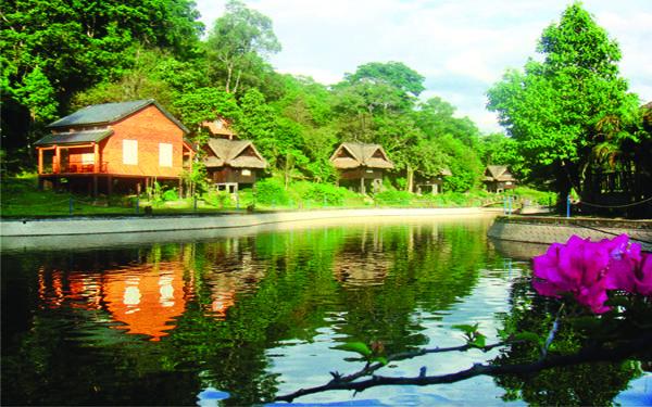 Khung cảnh thiên nhiên thơ mộng ở Sơn Kim