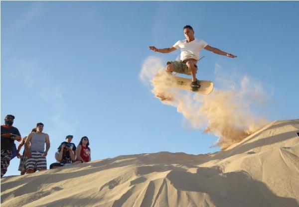 Trượt cát - đồi cát Quang Phú