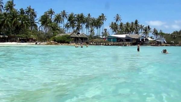Bãi tắm Hòn Mấu - Quần đảo Nam Du - Kiên Giang