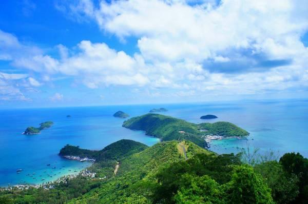 Vẻ đẹp chao đảo lòng người của quần đảo Nam Du