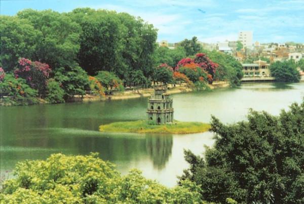 Vé máy bay đi Hà Nội khám phá thiên đường hồ nước