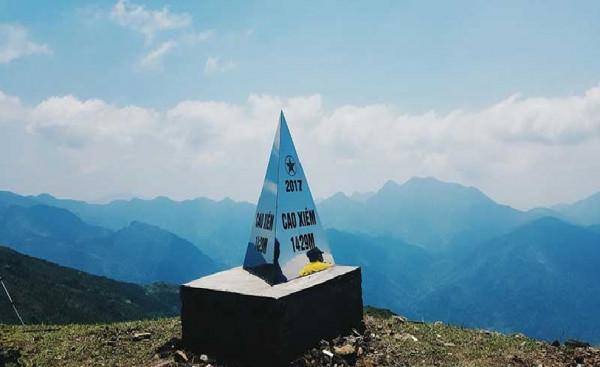 Đỉnh núi Cao Xiêm Quảng Ninh