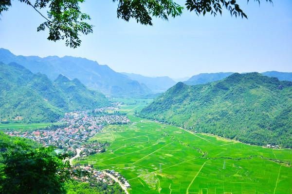 Phong cảnh hữu tình của Mai Châu