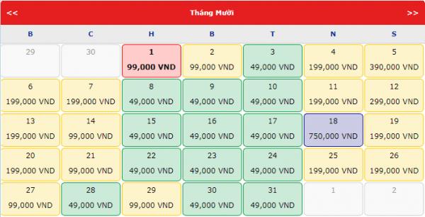 Vé máy bay đi Đà Lạt giá chỉ từ 49k