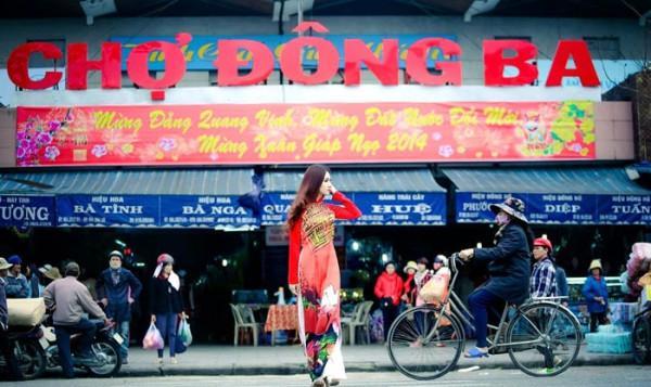 Chợ Đông Ba.
