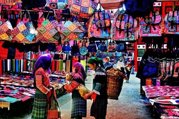 Chợ phiên của Sa Pa