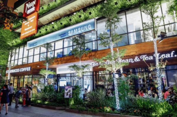 Khu phố sang chảnh Saigon Garden