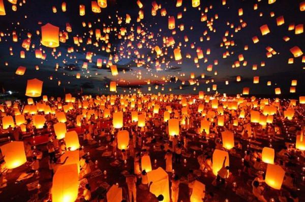 Lễ hội ánh sáng Loy Krathong