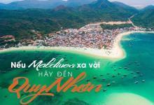 Vé máy bay giá rẻ khám phá Maldives thu nhỏ tại Quy Nhơn