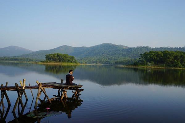 """Hồ Yên Trung, Uông Bí – """"Đà Lạt thu nhỏ trên đất Quảng Ninh""""1"""