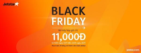 Black Friday vé máy bay siêu giảm giá chỉ từ 11k