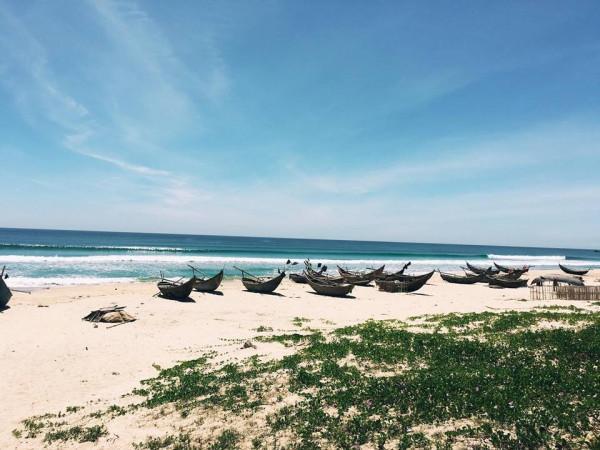 Nét đẹp hoang sơ của bãi biển Tam Thanh