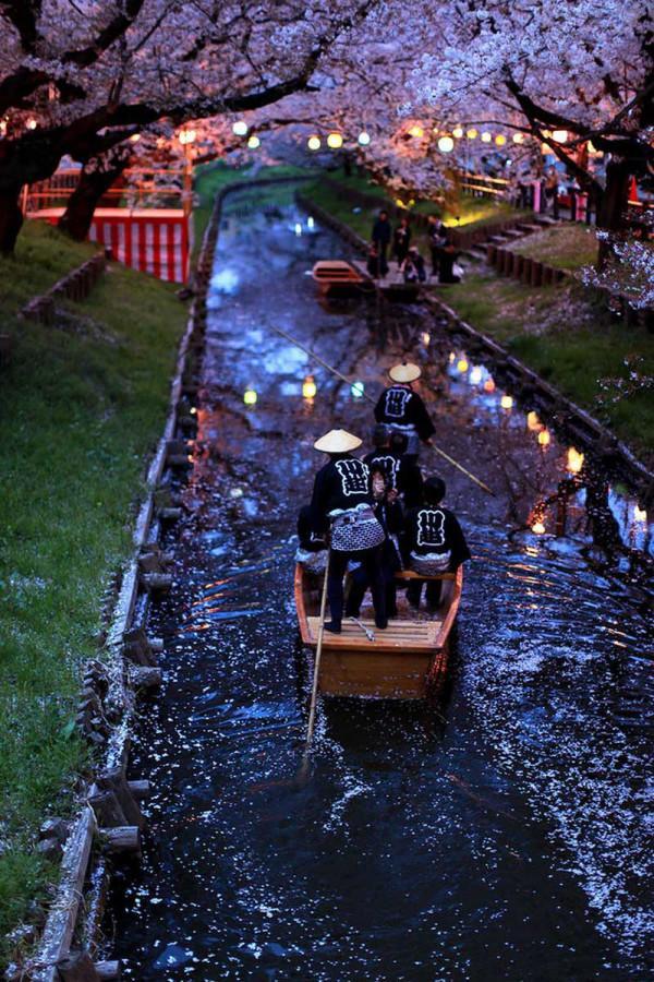 Dòng sông ở Kawagoe