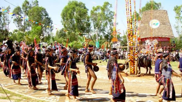 Lễ hội Đâm Trâu tại Pleiku