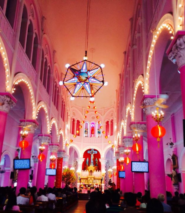Nhà thờ Tân Định NOEL1